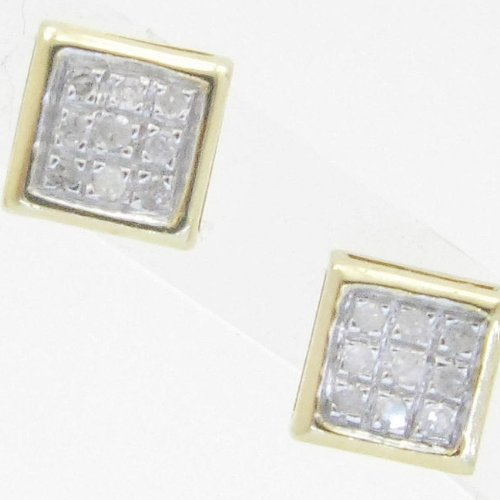 Mens 925 Sterling Silver earrings fancy stud hoops huggie ball fashion dangle white small pave earrings3