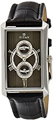 Titan Classique Analog Black Dial Mens Watch - ND1490SL01