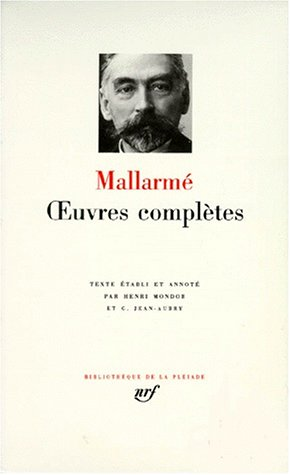 Mallarme selected prose poems essays and letters