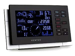 Ventus W155 Stazione meteorologica colore: Nero/Beige