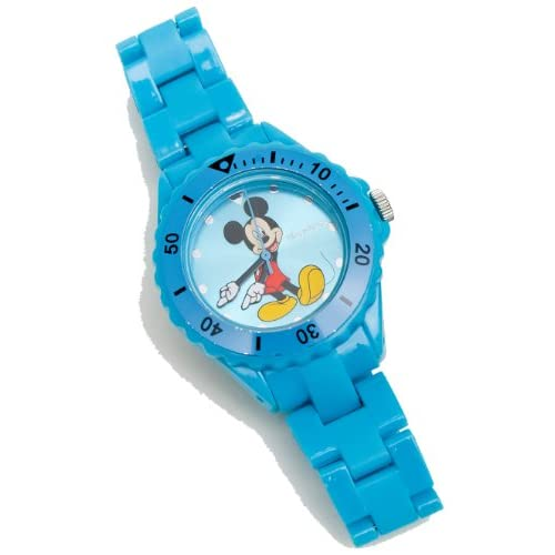 Mickey-Mouse-Light-Blue-Analogue-Quartz-25758-Childrens-Watch