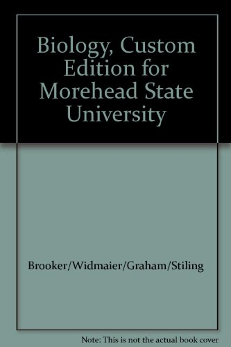 Biology, Custom Edition for Morehead State University