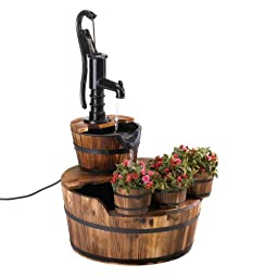 Pump & Barrel Fountain Home Decor Home Decorative Items Accessories and Gifts