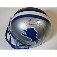 Matthew Stafford Detroit Lions Signed Autographed Full Size Helmet Authentic Certified Coa
