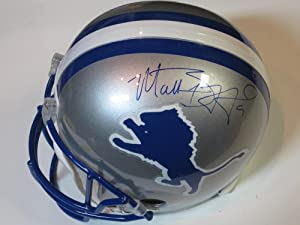 Matthew Stafford Detroit Lions Signed Autographed Full Size Helmet Authentic...