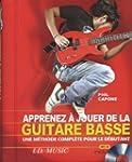 Guide Apprenez a Jouer de la Basse CD