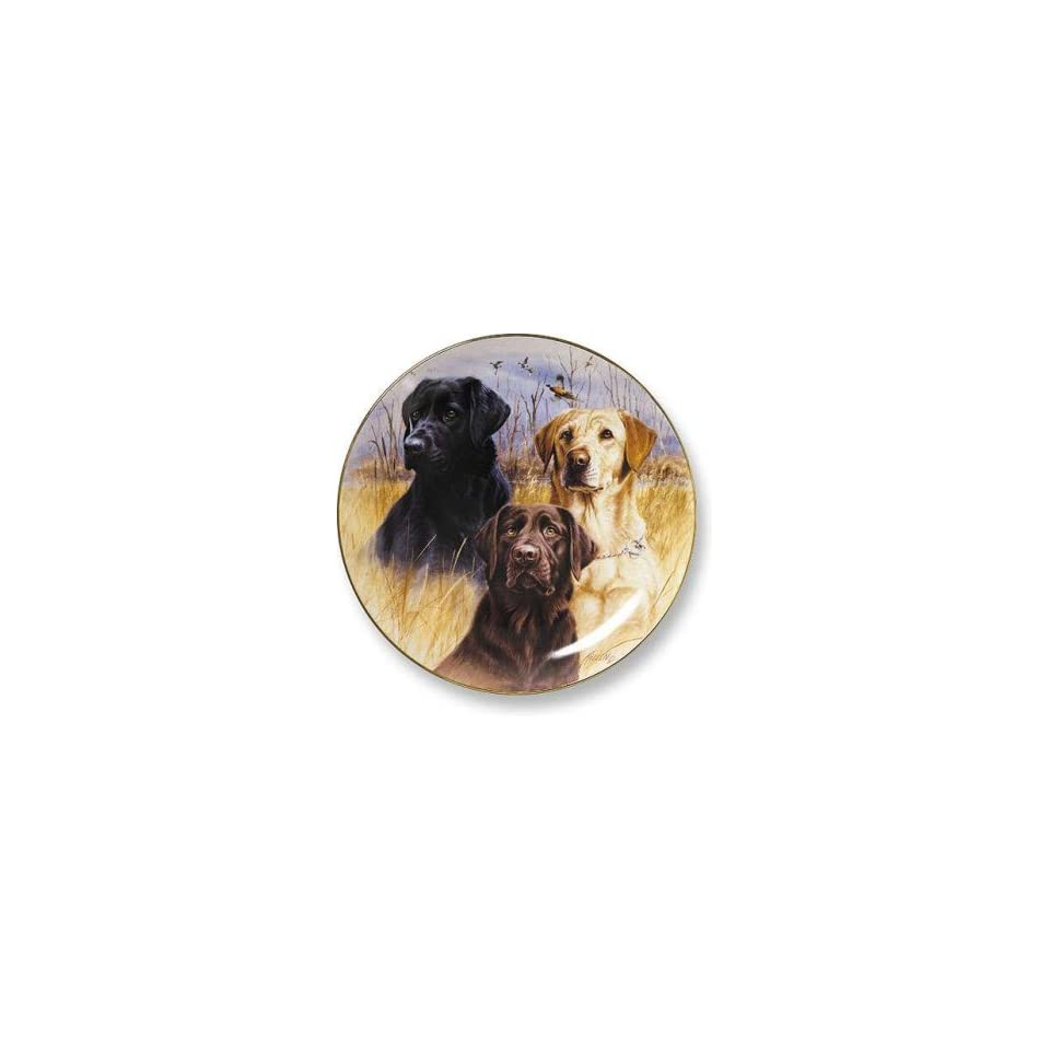 Wild Wings Sporting Dog Plates   Great Hunting Dogs II Labs