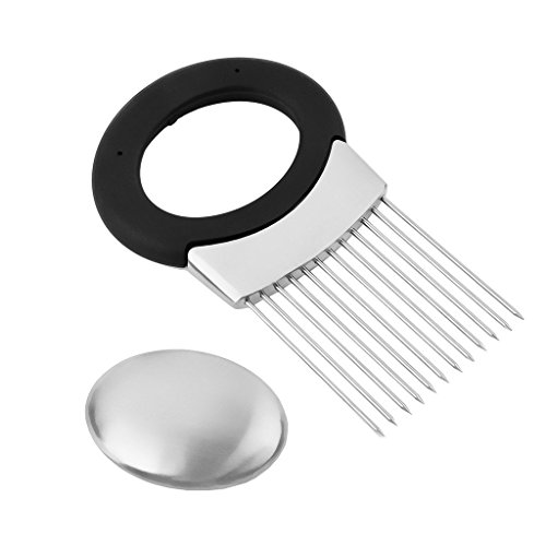 newcomdigi-multi-purpose-stainless-steel-onion-holder-odor-remover-onion-chopper-meat-tenderizer