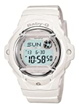 Women Watch Casio BG169R-7A Baby G White Plastic Resin Baby G Digital