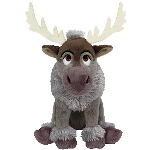 Ty Inc Beanie Baby Plush Stuffed Animal Sven - The Reindeer 7""