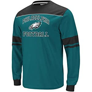 Reebok Philadelphia Eagles Power Sweep Long Sleeve T-Shirt by Reebok