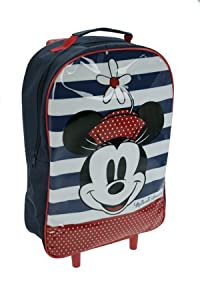Trade Mark Collections Disney Minnie Mouse Wheeled Bag Blue from Trade Mark Collections