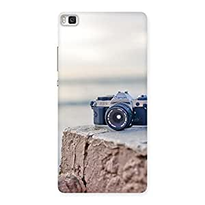 Stylish Camera On RockStone Back Case Cover for Huawei P8