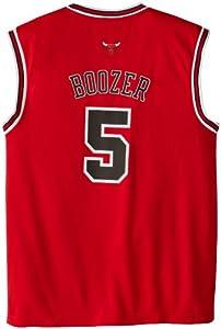 NBA Chicago Bulls Red Replica Jersey Carlos Boozer #5, Large