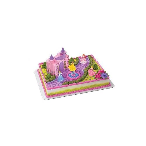 Disney Princess Cake Decoration Kit : Disney Princess Deluxe Castle Cake Decorating Kit