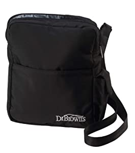 Dr. Brown's Insulated Baby Tote Bag - Black