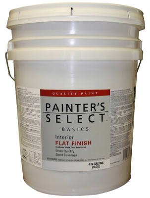true-value-vf11-5g-painters-select-basics-white-interior-flat-latex-wall-paint-5-gallon
