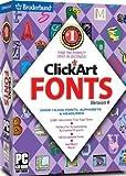 ClickArt Fonts 4 - 19,000+ Fonts
