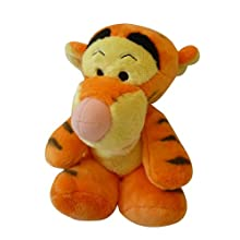 Disney Plush - Tigger Floppy 10 Inches Stuff Animal - Winnie the Pooh Friends Soft Toy