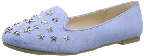 Buffalo Girl Womens 118-1 MICRO SUEDE Casual Blue Blau (BLUE 08) Size: 37