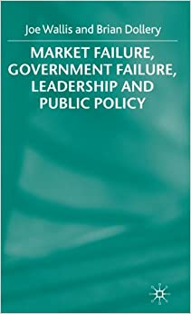 market failure and government policies Policies can address market failures by inducing actors to internalize these effects, for example by subsidizing a firm's r&d when it may benefit other firms, or by smith explained that, in areas such as education and the legal system, government policies are needed to promote social wellbeing and ensure that markets.