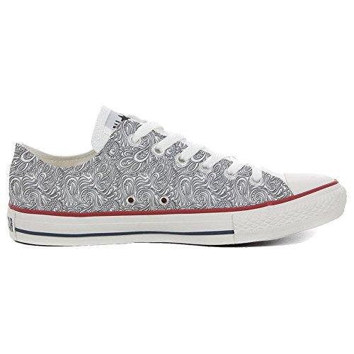 Converse All Star Hi chaussures coutume (produit artisanal) Light Paisley