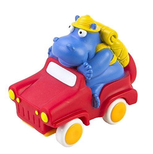 Kidoozie Wild Wheeler Hippo Toy