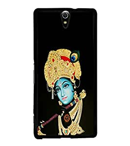 Lord Krishna 2D Hard Polycarbonate Designer Back Case Cover for Sony Xperia C5 Ultra Dual :: Sony Xperia C5 E5533 E5563