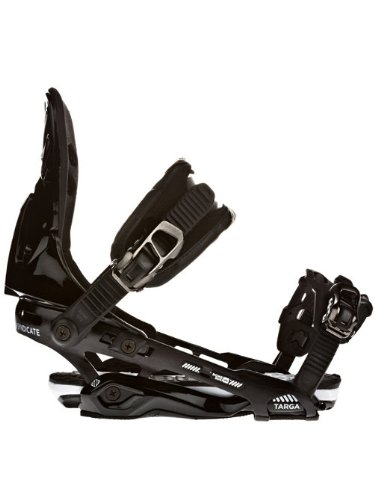 Rome Targa Snowboard Bindings Black Mens Sz L/XL (9-14)