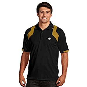 New Orleans Saints Fusion Polo (Team Color) by Antigua