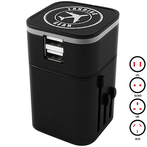 Landing Gear Worldwide Travel Adapter