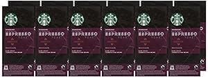 Starbucks Fairtrade Compatible Espresso Roast Capsules (Pack of 12, Total 120)