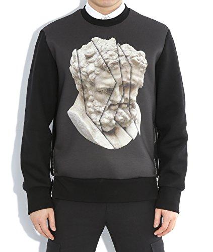 wiberlux-neil-barrett-mens-sculpture-print-with-side-zipper-sweatshirt-m-black