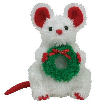 Ty Jingle Beanies Garlands - Mouse - 1