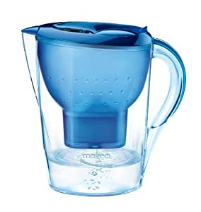 MAVEA 1009650 Marella XL 8-Cup Water Filtration Pitcher, Blue