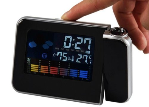Weather Multi-function Station Projection Alarm Clock/digital Alarm Clock / Thermometer