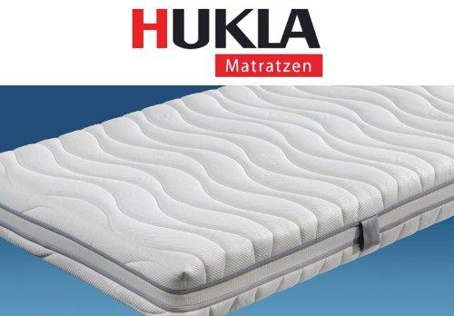 Hukla Studioline 400 7-Zonen-Tonnentaschenfederkern-Matratze mit Kaltschaum-Noppenformpolster, Größen Matratzen:100 x 190 cm;Härtegrad Matratzen:F2