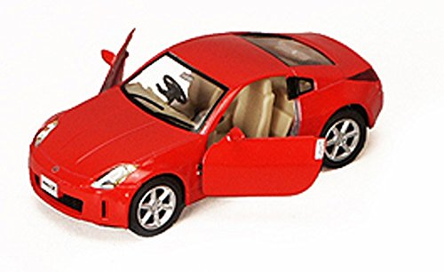 Nissan Fairlady 350Z, Red - Kinsmart 5061D - 1/34 scale Diecast Model Toy Car (Nissan Z Toy Car compare prices)