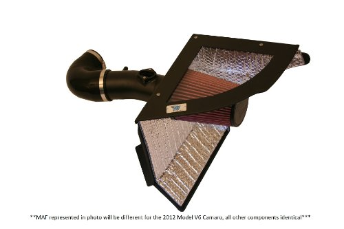 Cold Air Inductions Inc. 501-1036-12-B Cold Air Intake System for 3.6L V6 Chevrolet Camaro (2012 V6 Camaro Intake compare prices)