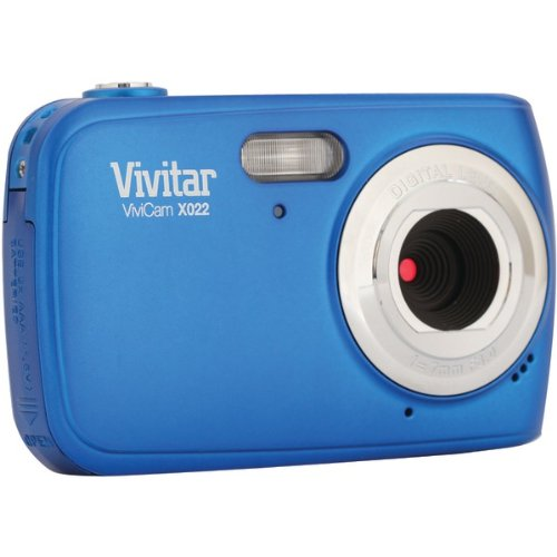 VIVITAR VX022-BLU 10.1 Megapixel VX022 Digital Camera (Blue)