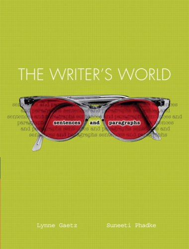 Writer's World: Sentences and Paragraphs  Value Package (includes MyWritingLab Student Access )