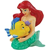 Westland Giftware Ariel and Flounder Magnetic Ceramic Salt and Pepper Shaker Set, 3.75-Inch