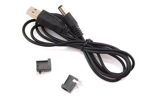 Unihandbag Dc Outlet 5.5X2.1Mm Dc-005 Electrical Socket + Usb To 5.5X2.1Mm 1.5M Power Line Hot