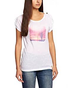 Protest Bazaar T-Shirt femme Basic FR : 34 (Taille Fabricant : XS/34)