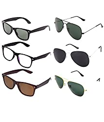 lime offers combo of 6 sunglasses