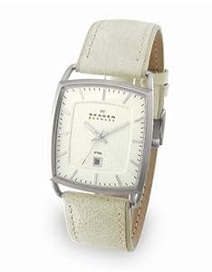 Skagen Men's Leather Watch #243LSLW