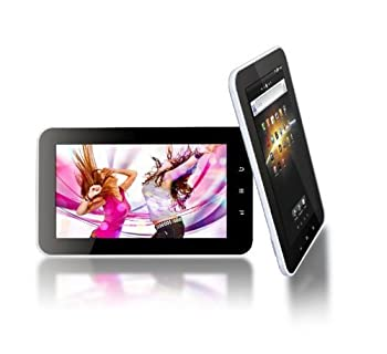 "Tursion 7"" Capacitive A10 Tablet PC 4.0 Android 8GB WiFi 3G MID Allwinner 8GB White With Safety Bag"