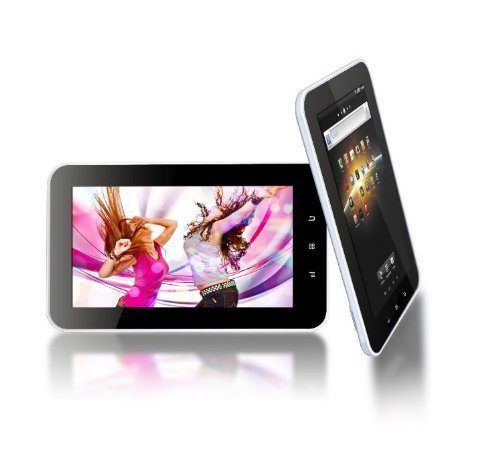Tursion 7 Capacitive A10 Tablet PC 4.0 Android 8GB WiFi 3G MID Allwinner 8GB White with Stand