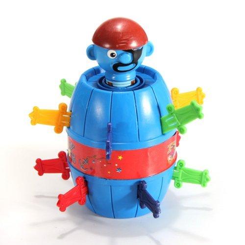MECO(TM) Stab Pop Up Toy Gadget Pirate Barrel Kid Child - 1
