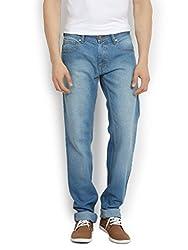 Thisrupt Mens Cotton Slim Fit Jeans (Size-34)